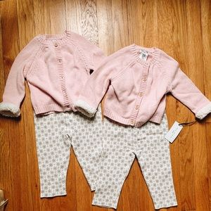 TWINS winter sweater outfit